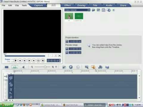 Ulead VideoStudio 10 Tutorial