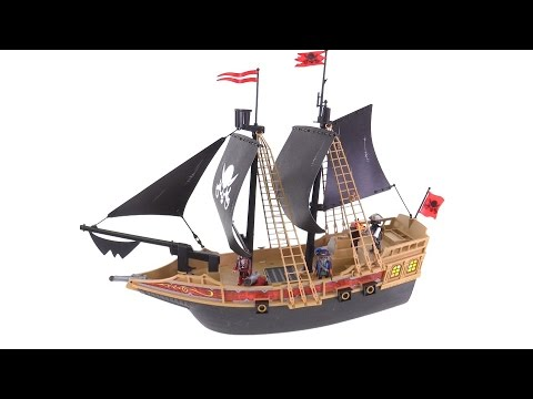 Playmobil Pirate Warship 6678 review!