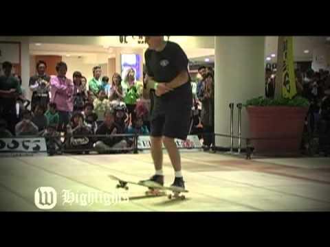 2009 World Freestyle Skateboard Championships Hghlight