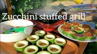 Zucchini Stuffed Recipe ( Bí ngòi khai vị )