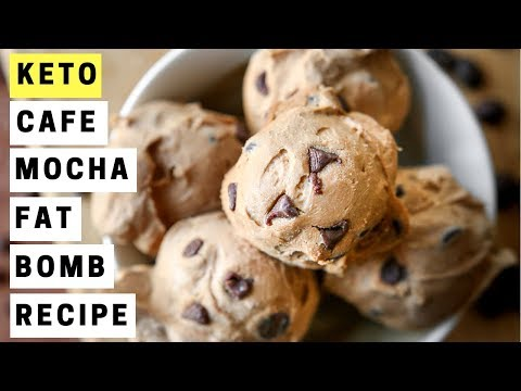 Cafe Mocha Cream Cheese Fat Bombs For Keto | ONLY 2 NET CARBS | Easy KETO Recipes For Beginners
