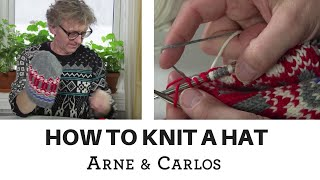 How to knit your own hat - by ARNE & CARLOS