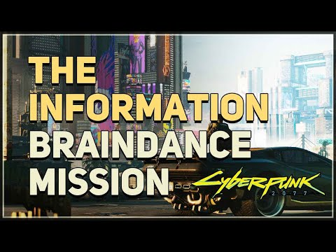 The Information Cyberpunk 2077 Mission