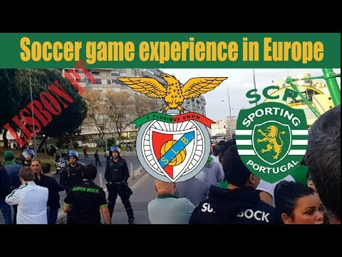 Watching A Soccer Game In Lisbon Portugal - Sporting Vs Benfica - Da P.A Vlog