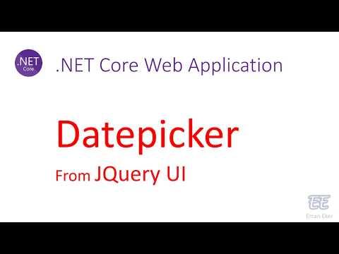 013 - .Net Core: Datepicker (JQuery UI) thumbnail