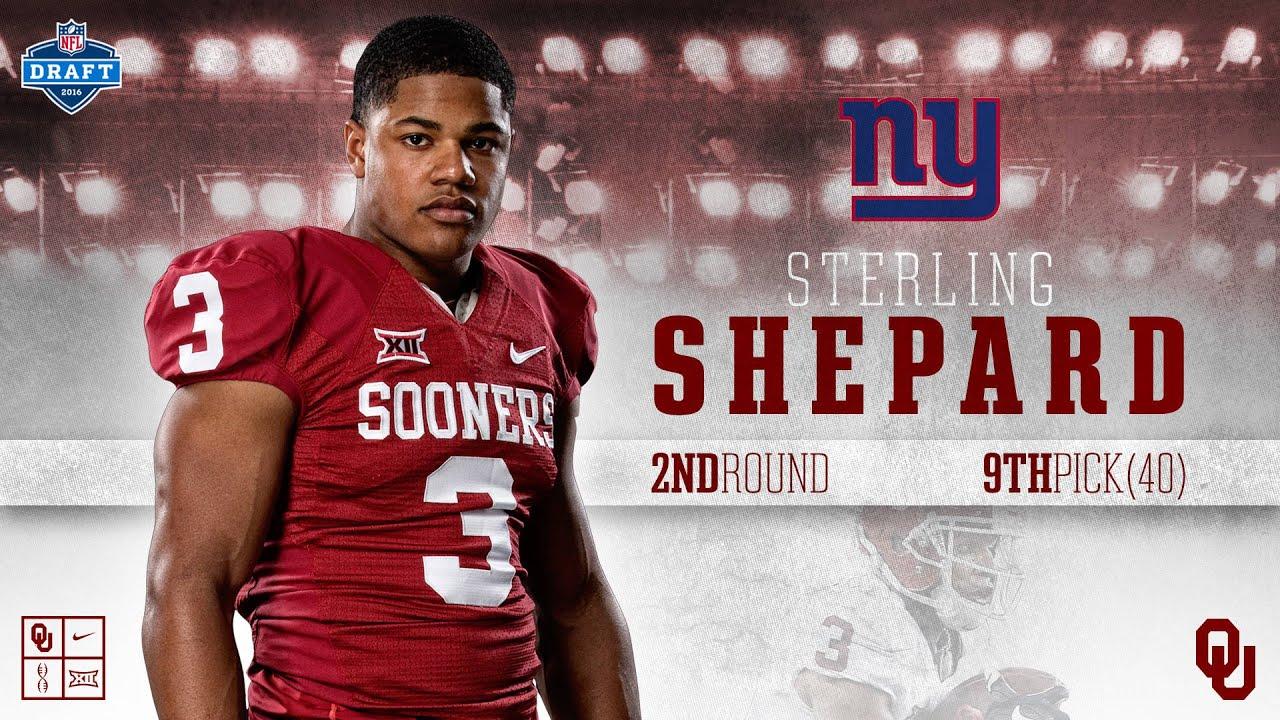 quality design 42216 4011f Future NFL Star   Sterling Shepard   New York Giants Draft Pick Highlights  ᴴᴰ