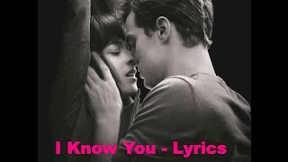 I Know You - Skylar Grey - Lyrics