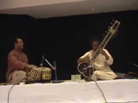 Pandit Shubhendra Rao playing Raga Bageshwari-- Drut Ek Tal