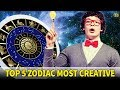 These 5 Zodiac Signs Are The Most Creative - Know Everything