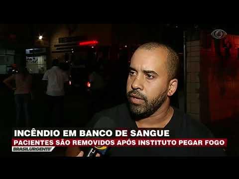Banco De Sangue Pega Fogo No Rio De Janeiro