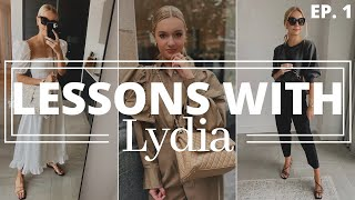 HOW I GET DREŠSED & PLAN MY OUTFITS | Lessons with Lydia. Episode 1