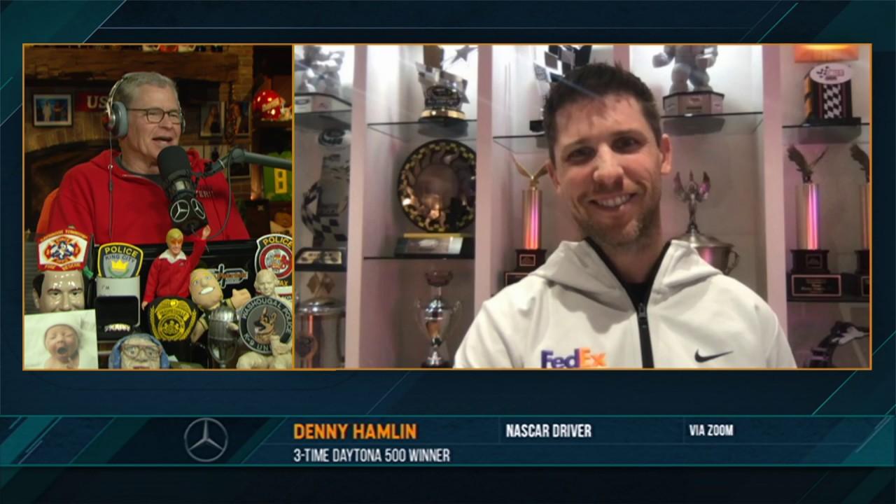 Denny Hamlin on the Dan Patrick Show (Full Interview) 05/21/20