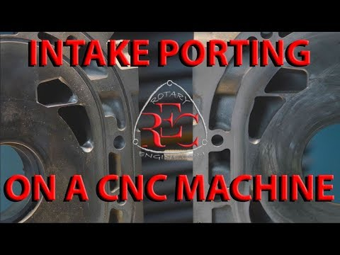 High flow and high power CNC INTAKE porting - NEW