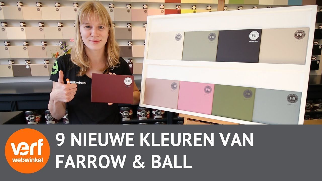 Farrow And Ball Kleurenwaaier.De 9 Nieuwe Kleuren Van Farrow And Ball 2018 Youtube