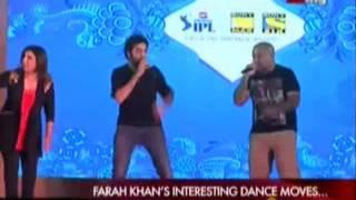 Farha Khan's Interesting dance moves