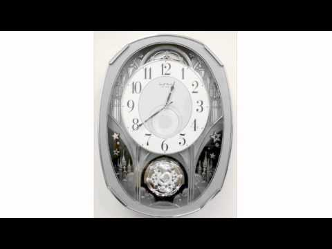 Rhythm Musical Animated Clock 4MH878