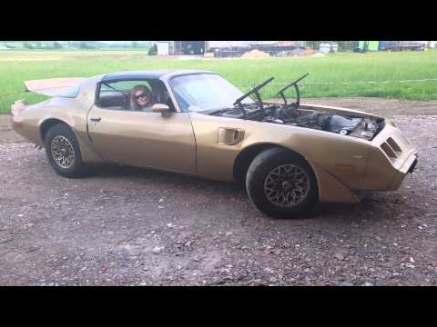 1979 Pontiac Trans Am 6.6 first roll out after 25 ye
