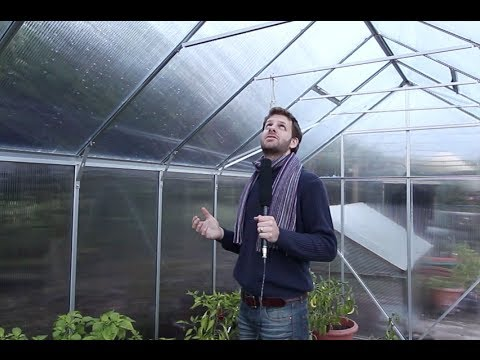 Building a Greenhouse - Vitavia Jupiter 11500 Polycarbonate Greenhouse
