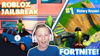 🔴 ROBLOX FRIDAY OR FORTNITE FRIDAY? | Live Stream! | JAILBREAK UPDATE! | Fortnight Game Play! | 😛