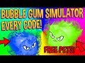 ALL BUBBLE GUM SIMULATOR CODES AND SECRETS - Roblox (CANDY LAND)