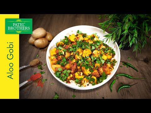Spicy Aloo Gobi ki Sabzi – Potato & Cauliflower Curry Vegan Recipe