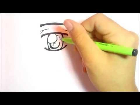 Manga Augen zeichnen – Speedvideo Tutorial – LeoVlogi