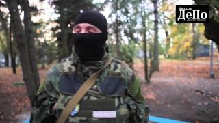 """Москвичи и севастопольцы в украинском батальоне """"Азов"""""""