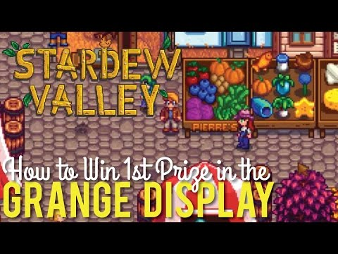Make Grange Display, How to Win 1st Place at the Stardew Valley Fair Snapshots