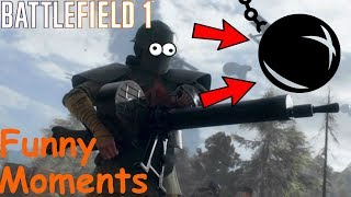 Battlefield 1 Funny/Random Moments#10(Wrecking Ball)