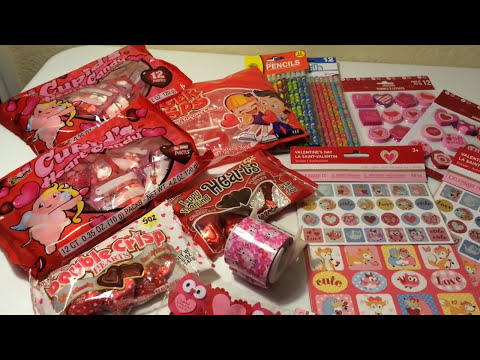 DOLLAR TREE VALENTINE GOODY BAGS FOR KIDS
