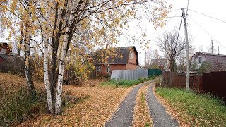 Terribly Cold but no Snow! Deserted Russian Dacha Community. Alex's New DIY Project