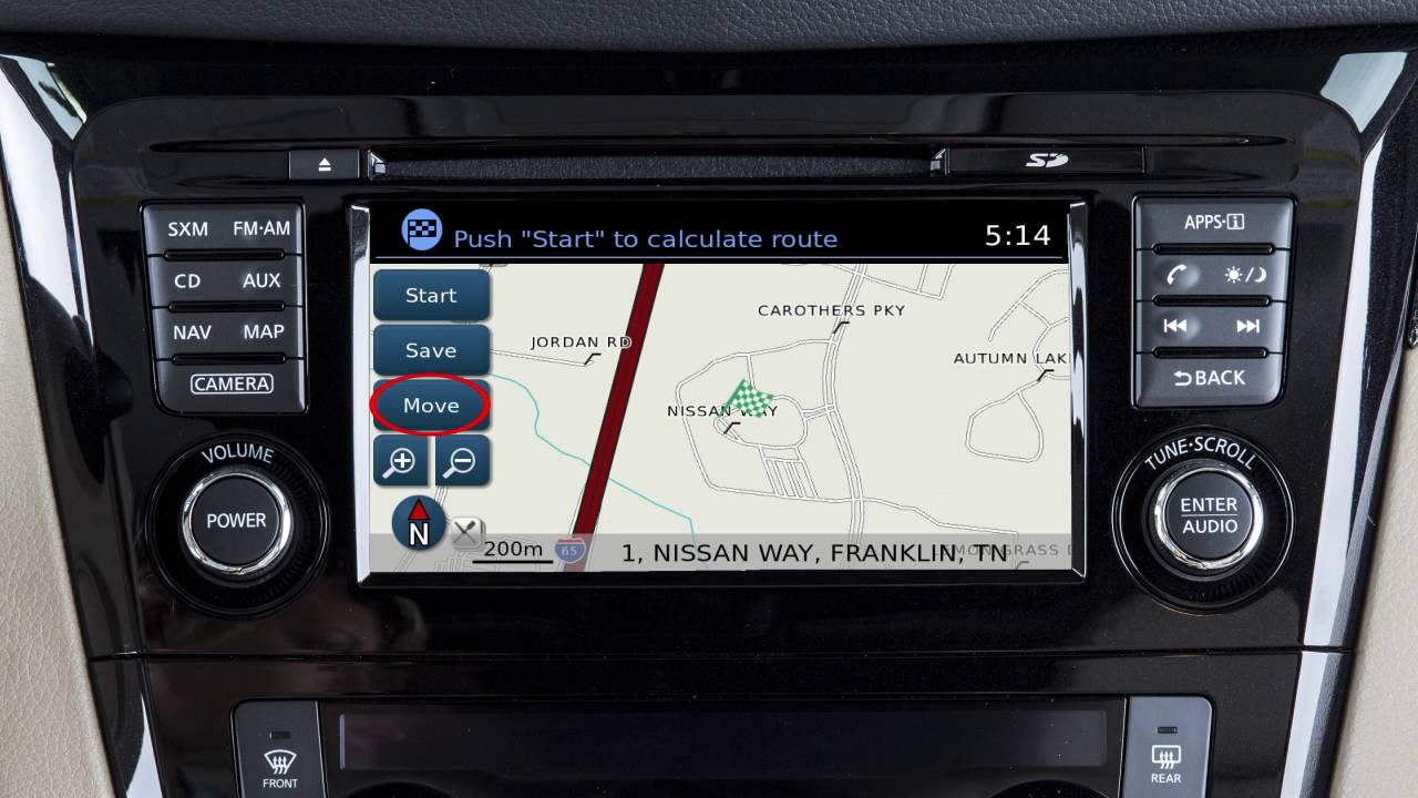 2017 nissan rogue navigation manual