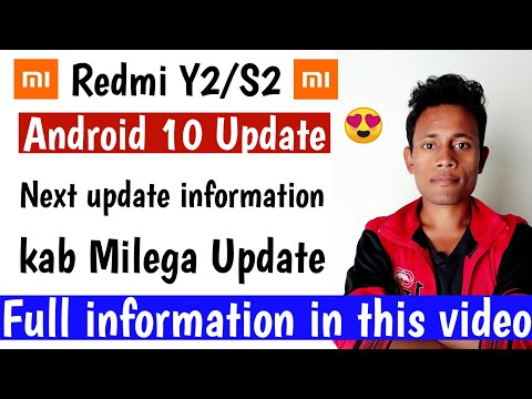 Redmi Y2 | Android 10 | Next Update Information By Technical Rkp