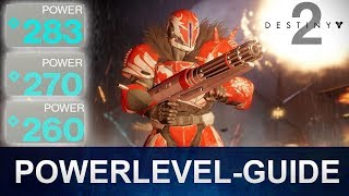 Destiny 2 Powerlevel richtig leveln / Powerlevel Guide (Deutsch/German)