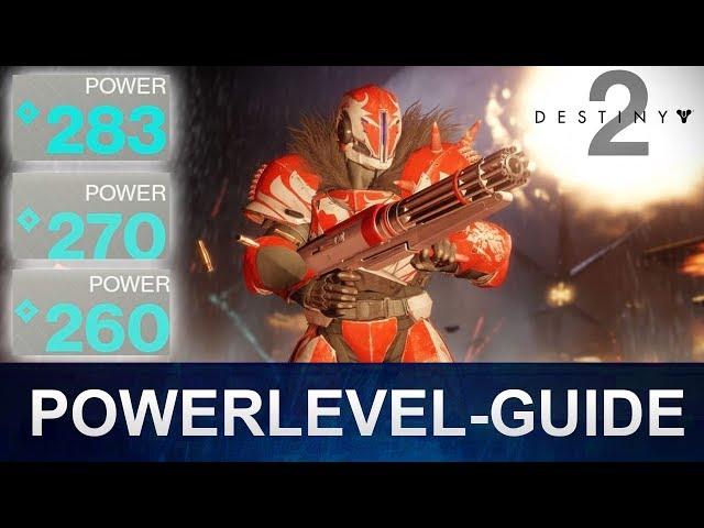 Destiny 2 Powerlevel richtig leveln / Powerlevel Guide (Deutsch/German)