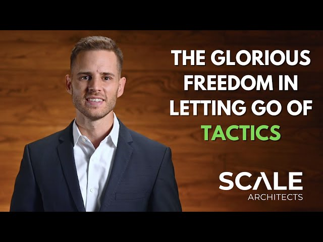 The glorious freedom in letting go of Tactics