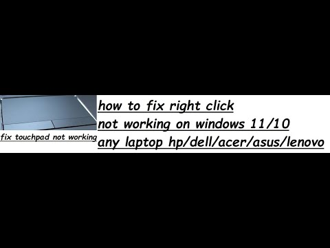 right click not working after windows 10 update