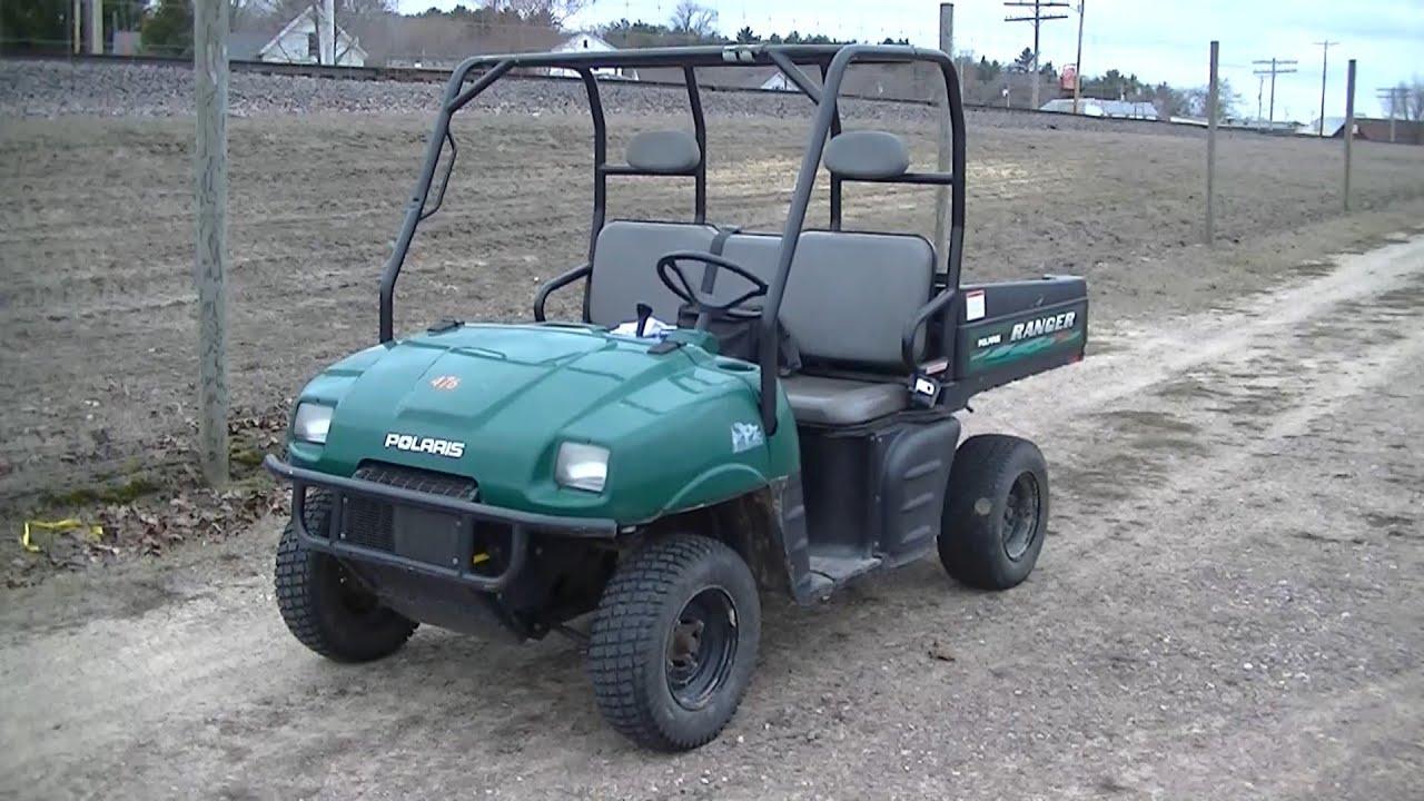 Polaris Ranger 500 First Ride 2001 2002 Series 10 Youtube