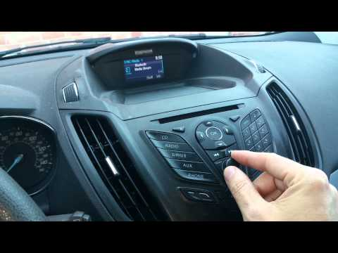 Ford Sync Bluetooth Audio Selection