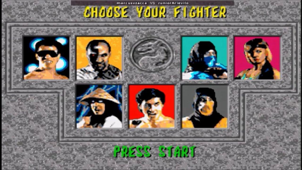 Mortal Kombat 1 Fightcade 2 Online Matches
