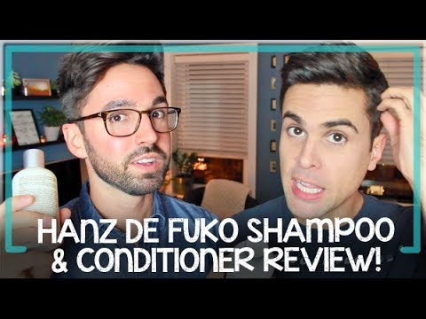 Billy & Pat Try Hanz de Fuko Natural Shampoo & Conditioner