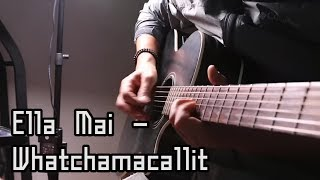 Ella Mai - Whatchamacallit ft. Chris Brown (Guitar Cover by J.Dami )