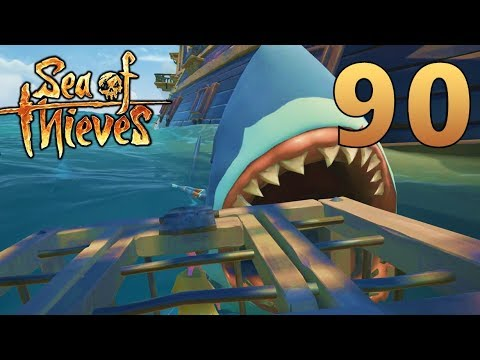 [90] SHARKS EVERYWHERE!!! Spesh's First Voyage! (Sea Of Thieves Gameplay PC)