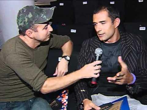 Marcos Pasquim SPFW inverno 2008, entrevista com Francisco Chagas no Over Fashion