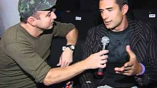 Marcos Pasquim SPFW inverno 2008, entrevista com Francisco Chagas no Over Fashion
