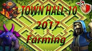 Clash Of Clans | Th-10 Farming Base | 2017 | #1