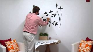 Black Branches Wall Decals