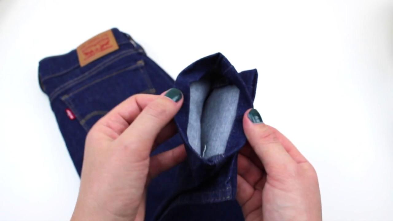 Diy tuto faire un ourlet de jean how to hem jeans easy - Faire un ourlet de jean ...