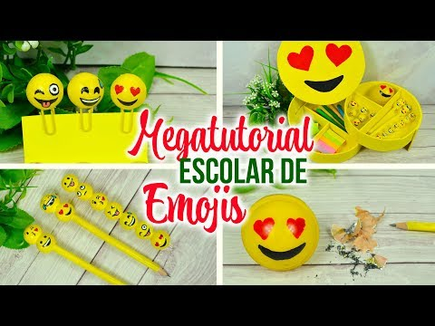 DIY EMOJIS Ideas para la escuela / SCHOOL SUPPLIES ( Regreso