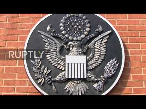 Russia: All quiet at US embassy while storm brews over Russian backlash to sanctions